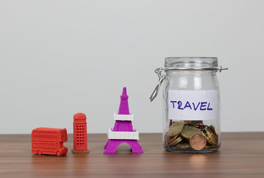 Sparen für eine Reise nach Europa