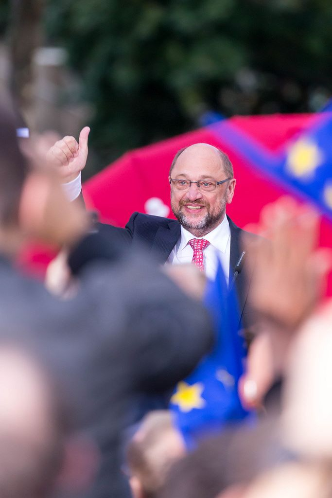 SPD-Kanzlerkandidat Martin Schulz 2017 in Köln