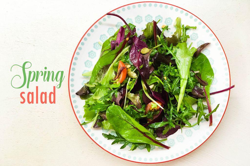 Spring salad / Frühlingssalat
