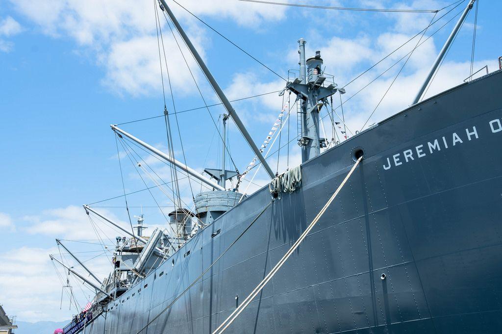 SS Jeremiah O'Brien - das berühmte Frachtschiff aus dem 2. Weltkrieg