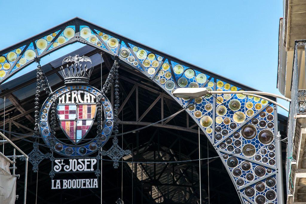 St. Josep (La Boqueria) market in Barcelona, Spain