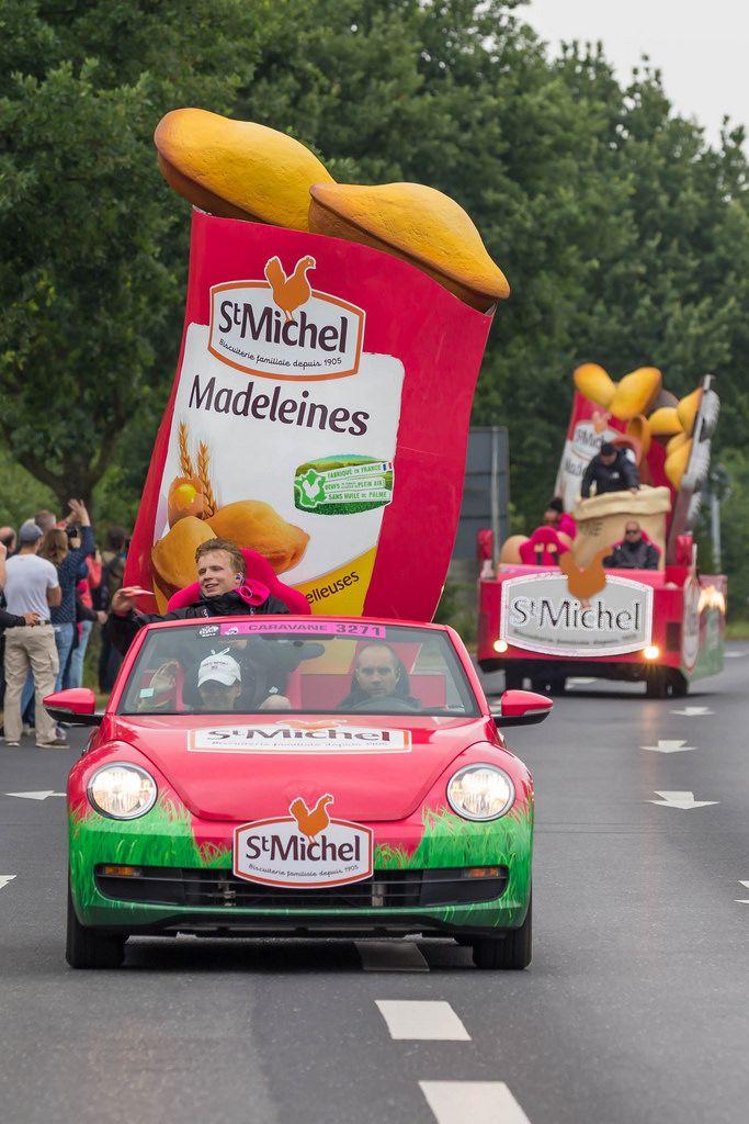 St Michel Madeleines Werbeauto