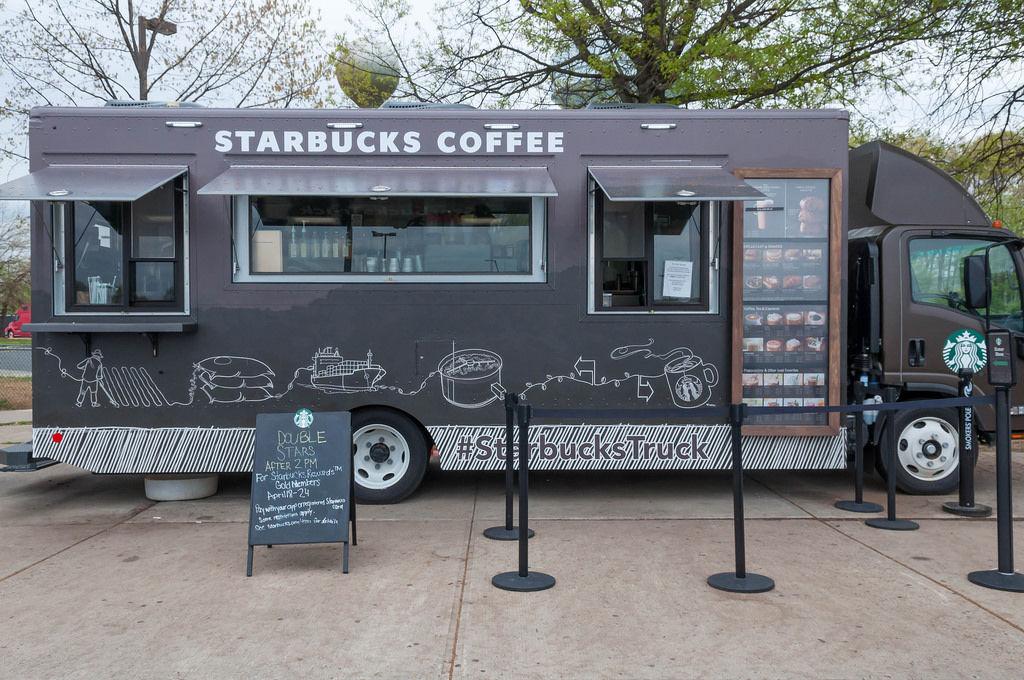 Starbucks Coffee Truck