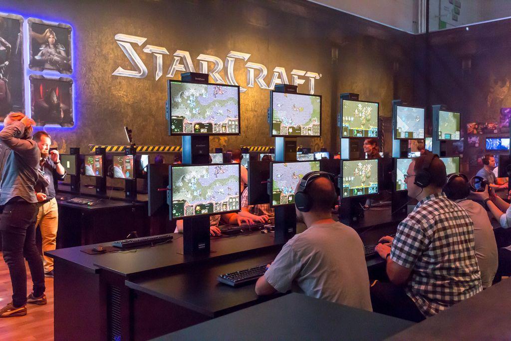 Starcraft-Stand auf der Gamescom 2017