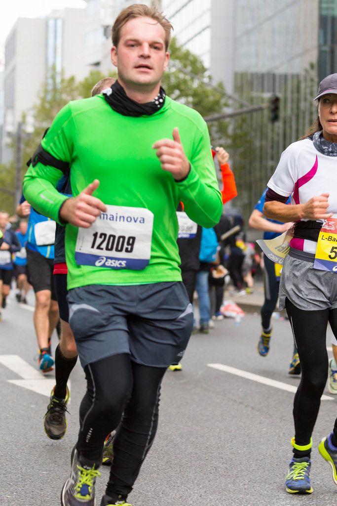 Startnummer 12009 - Frankfurt Marathon 2017