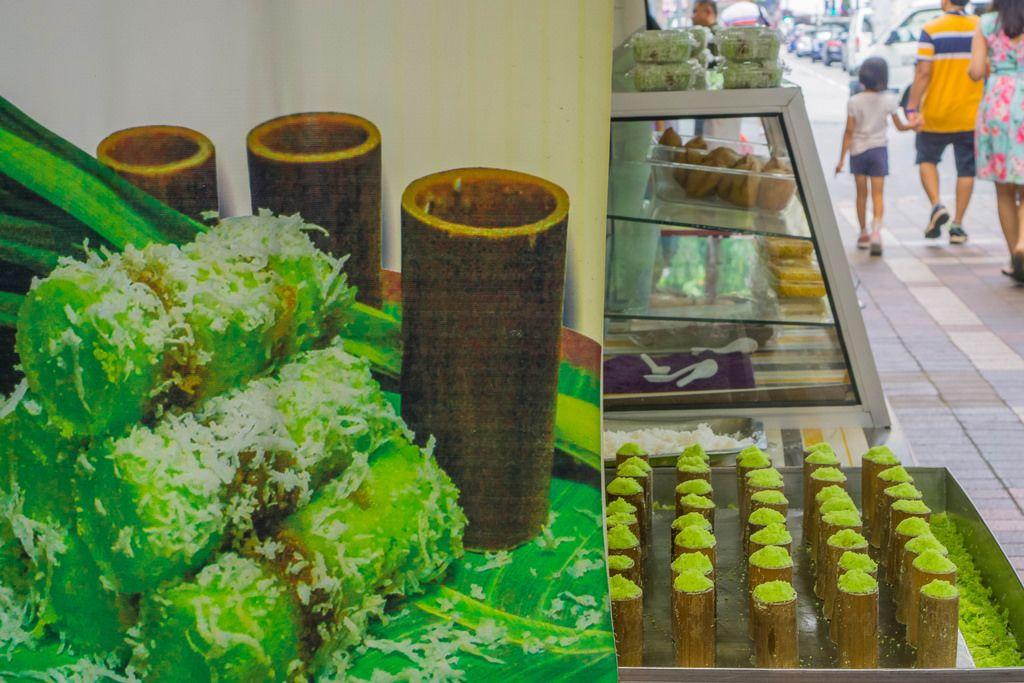Steamed Cake with Coconut at Kasturi Walk in Kuala Lumpur