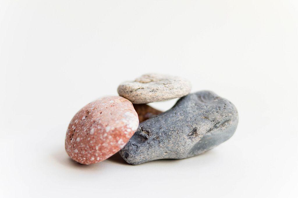 Steine aus dem Meer