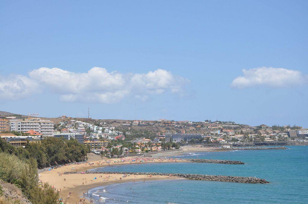 Strand in Playa del Inglés auf Gran Canaria