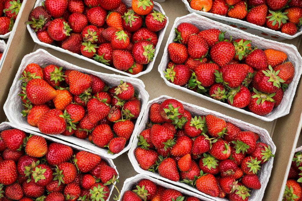 Strawberry boxes for sale (Flip 2019)