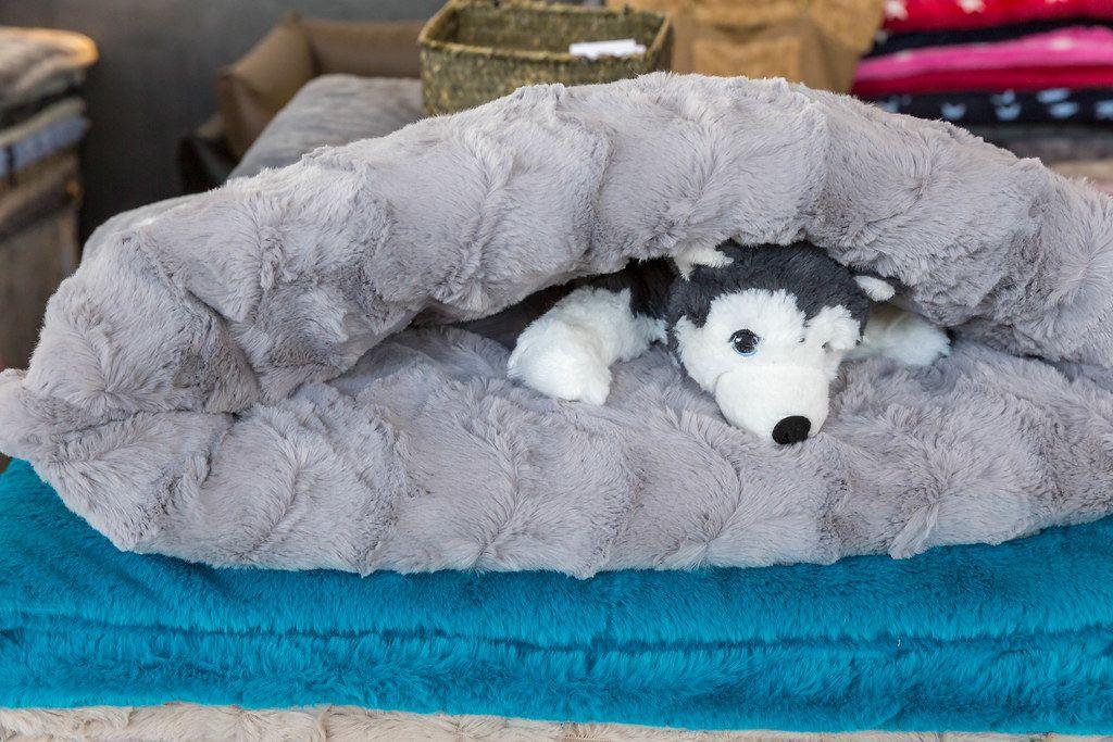 Stuffed Animal in a slip bag/snuggle pad