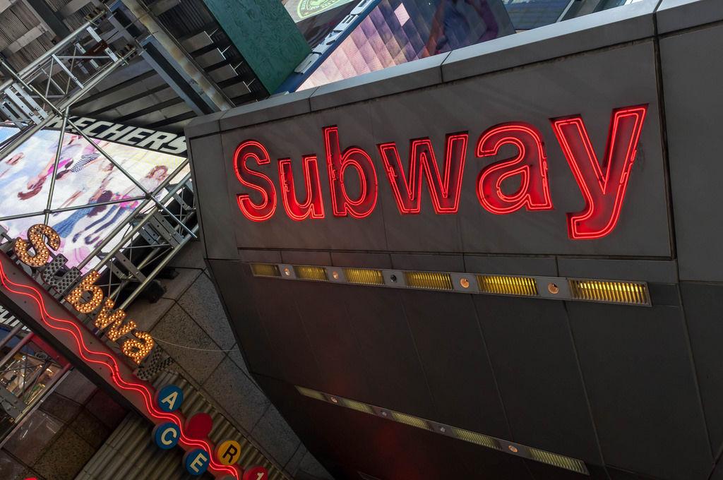 Subway New York @ Times Square