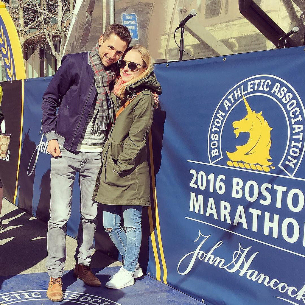 Such a beautiful day in Boston. Looking forward to the #bostonmarathon tomorrow. ?