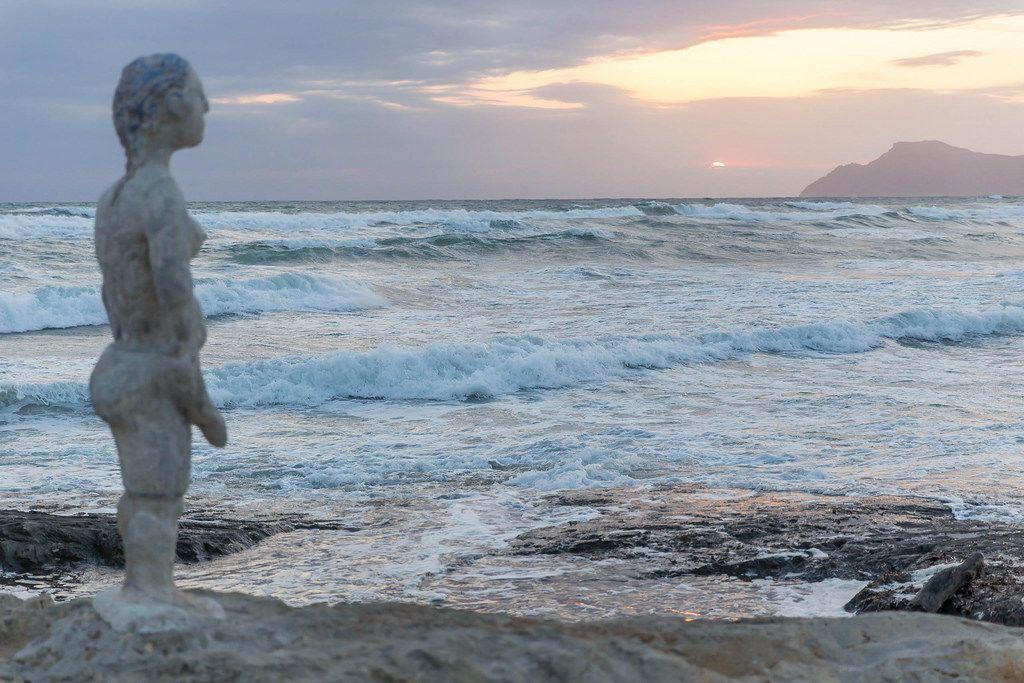Sunrise at the Playa de Son Bauló beach, C'an Picafort