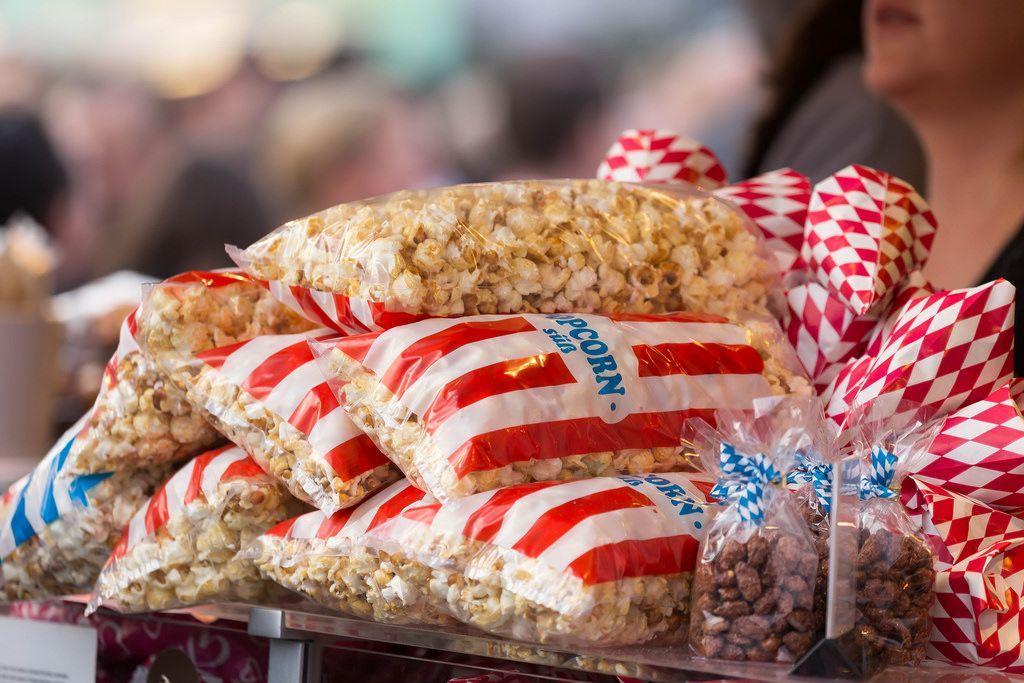 Süßes Popcorn - Oktoberfest 2017