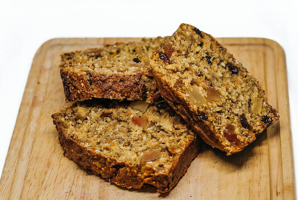 Sweden Sweet Bread with Seeds and Fruits