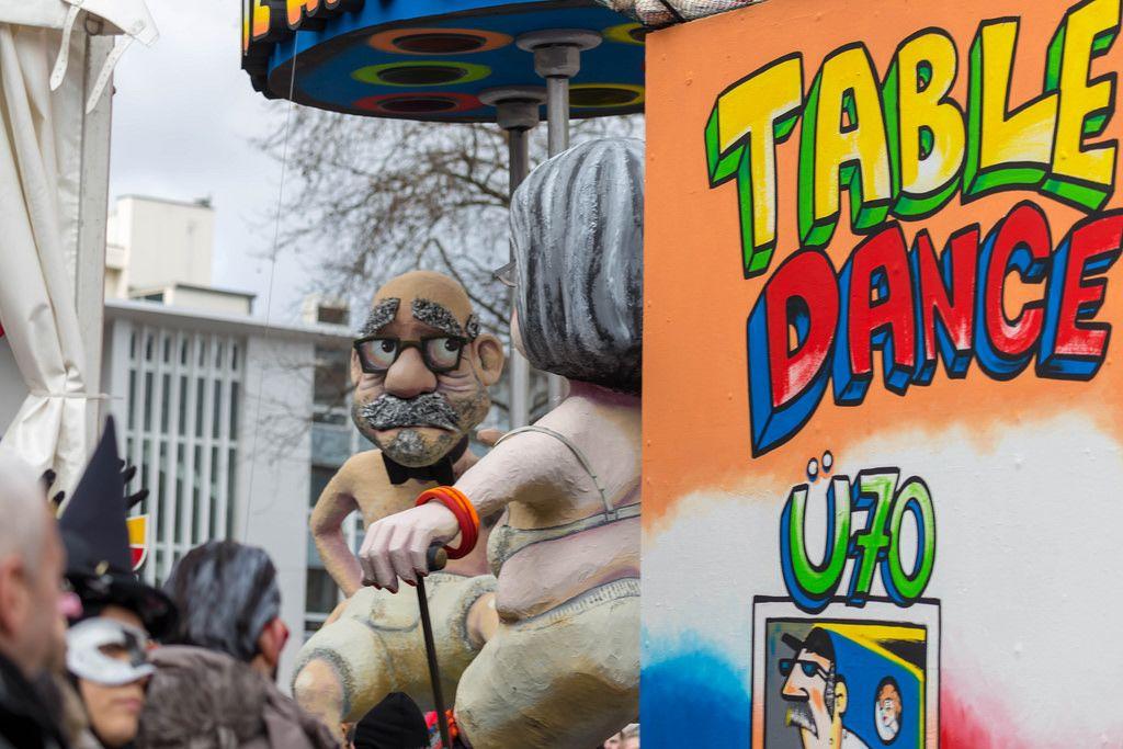 Table Dance für Ü70 - Kölner Karneval 2018
