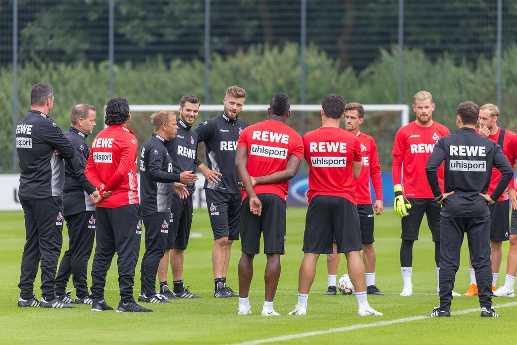 Talk before training on the 25.06.2018