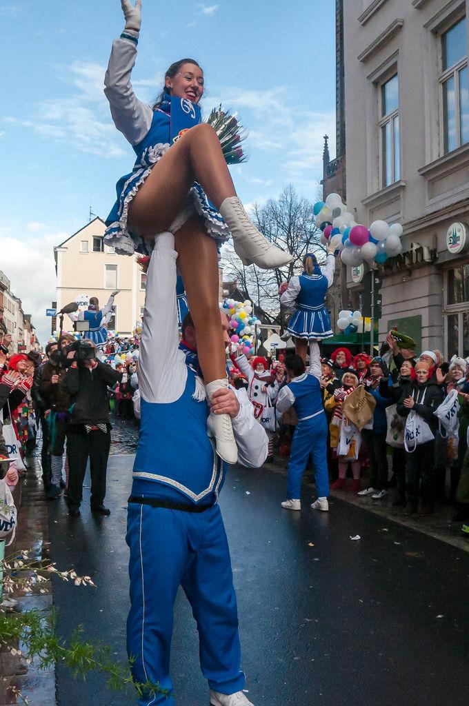 Tanzmariechen zu Karneval