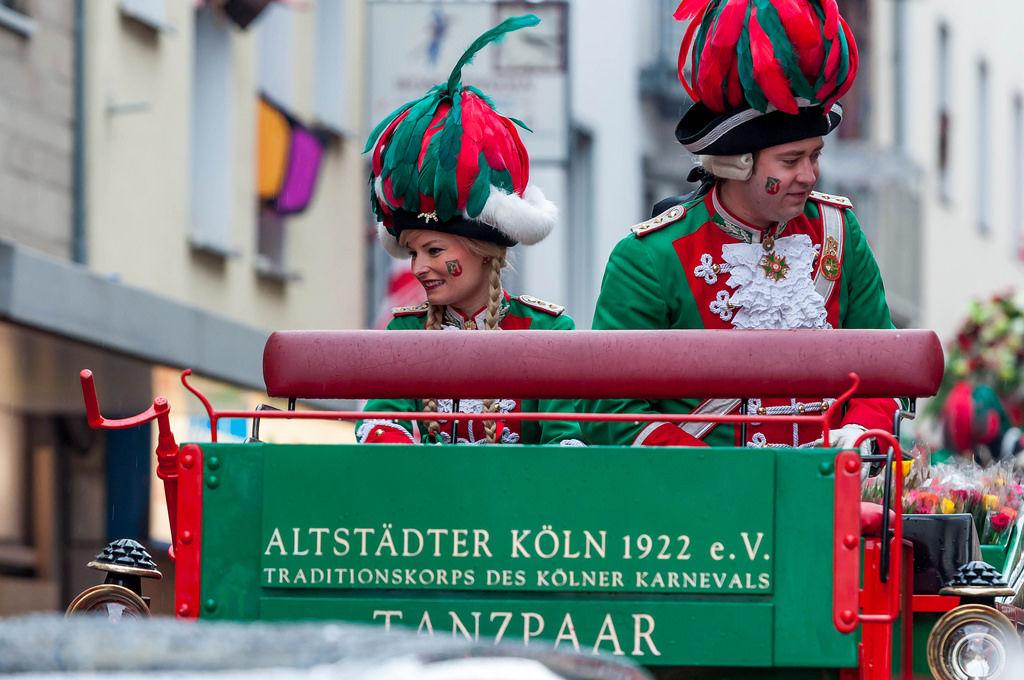 Tanzpaar der Altstädter Köln 1922 e. V.