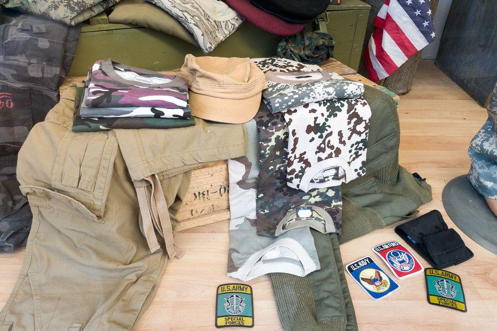 Tarnkleidung der U.S. Army, U.S. Navy und U.S. Air Force