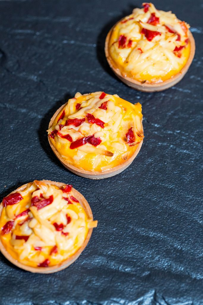 Tartlets baked with cheese (Flip 2019) (Flip 2019) Flip 2019