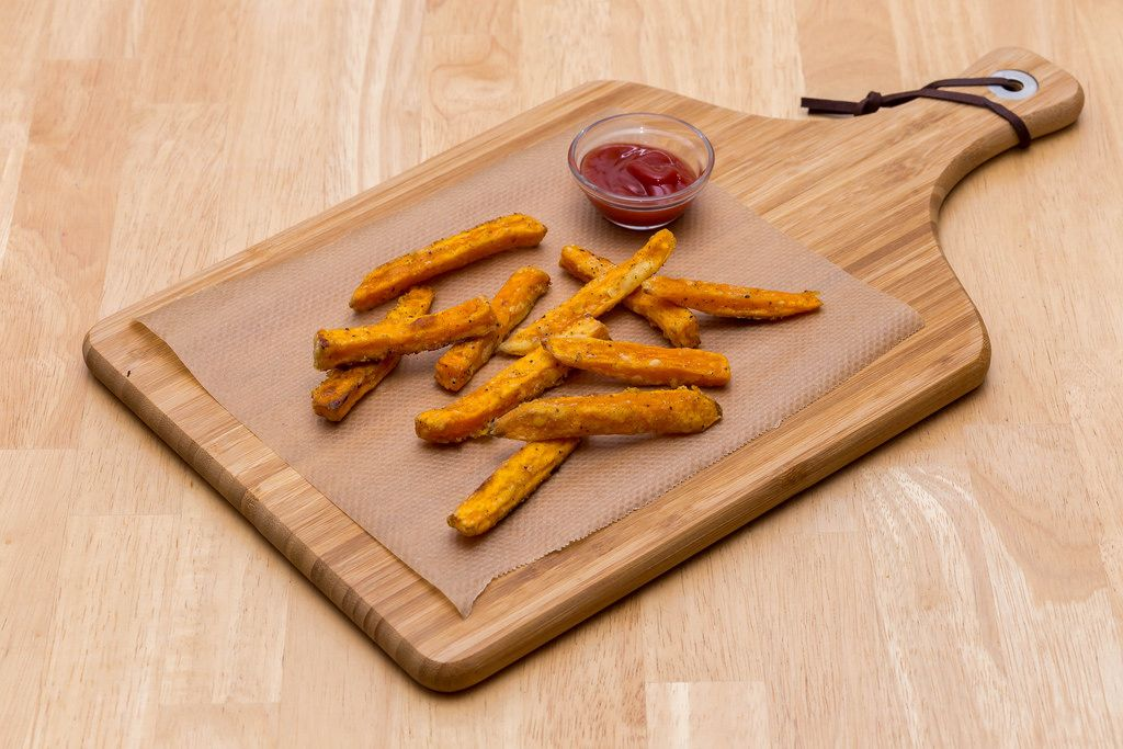 Tasty Sweet Potato Fries (do it yourself)