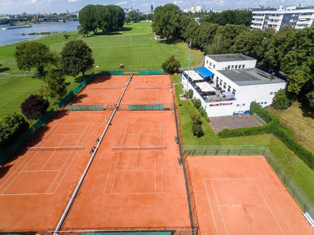 Tennisplätze von Germania e.V. Köln