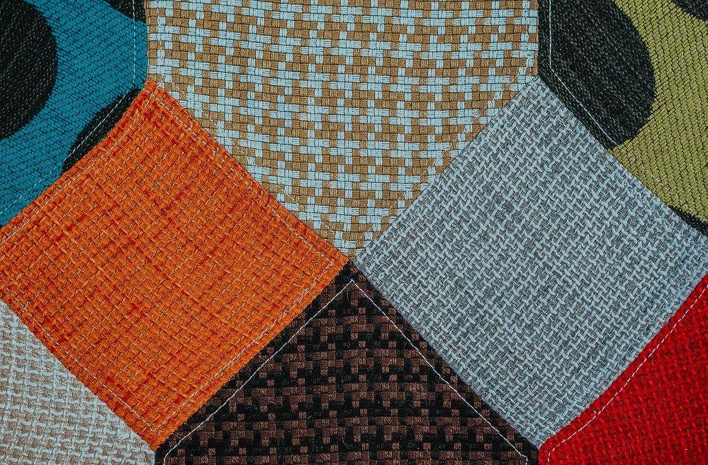 Textile Detail Of Armchair