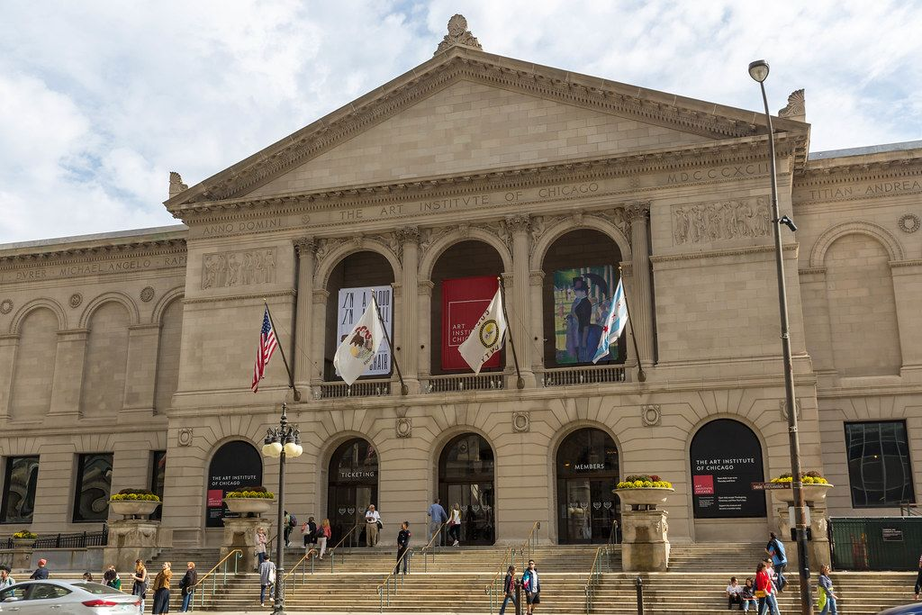 The building of the Art Institute of Chicago: one of the largest art museums in the United States