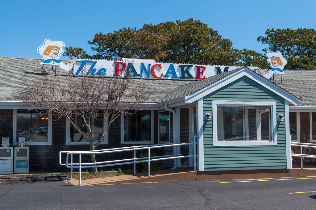 The Pancake man at Cape Cod