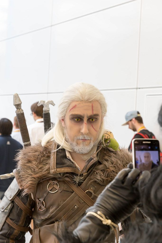 The Witcher 3 Darsteller Geralt - Gamescom 2017, Köln