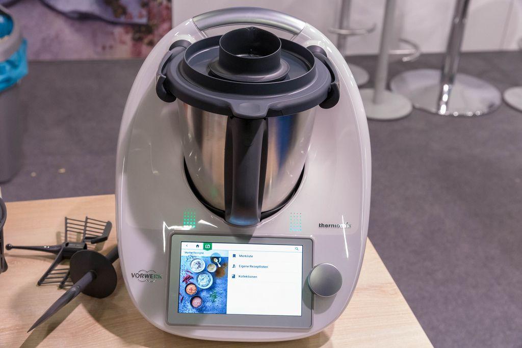 Thermomix multifunktionale Küchenmaschine mit mehr als 20 Funktionen an dem Fibo in Köln