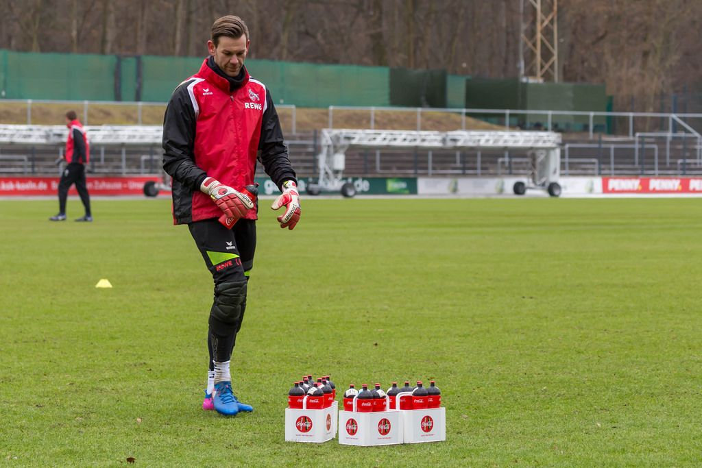 Thomas Kessler nach dem Training