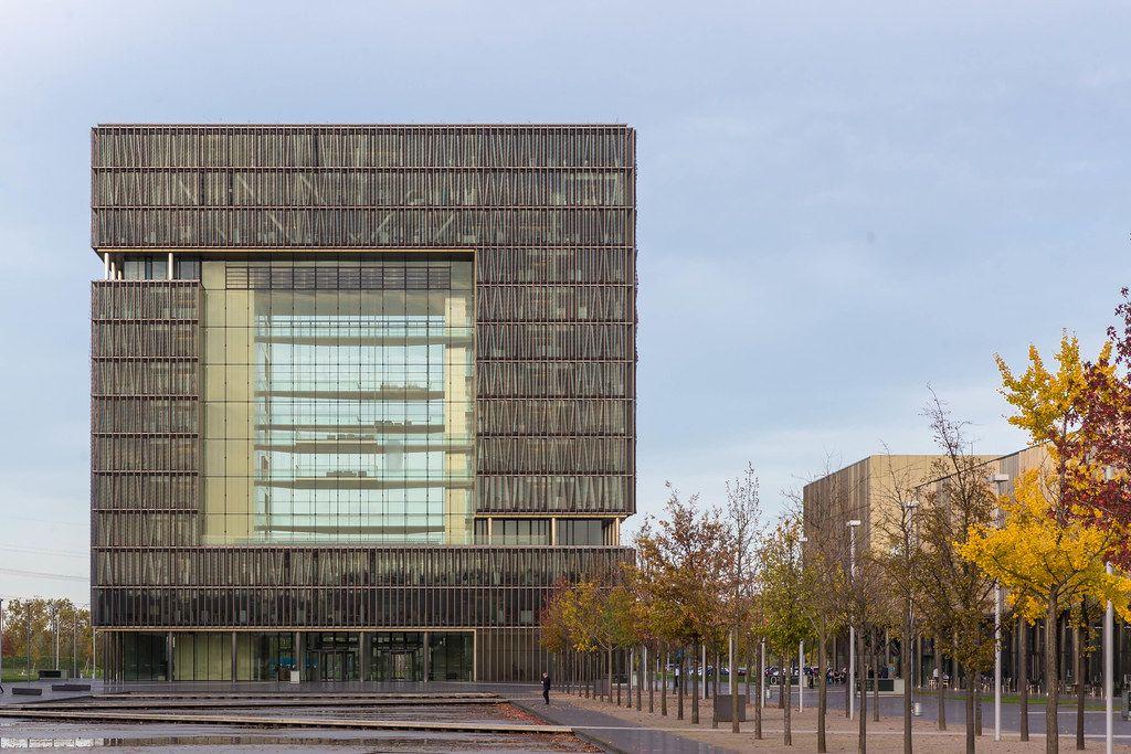 Thyssen Krupp Hauptgebäude: moderne Architektur in Essen