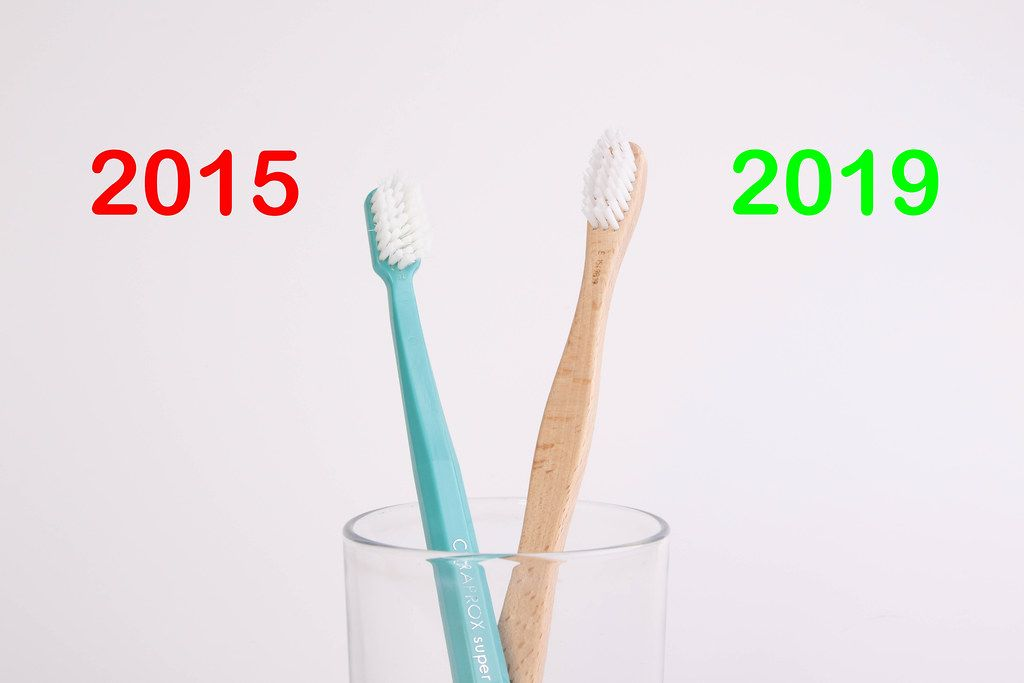Time to start using wooden toothbrush