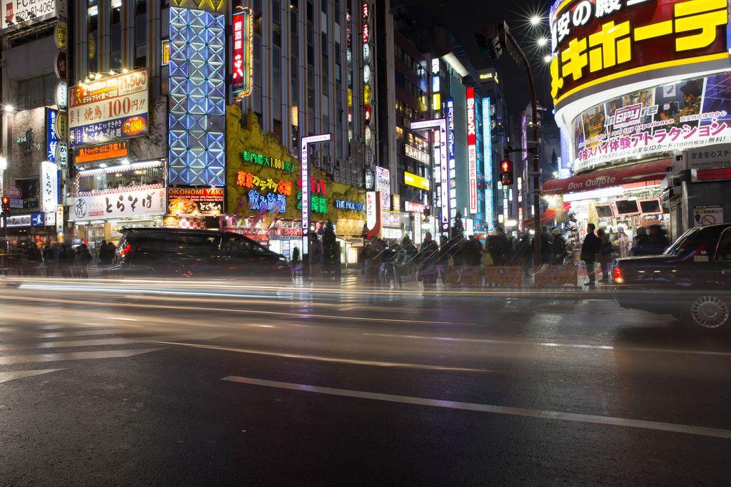 Tokyo schläft nie