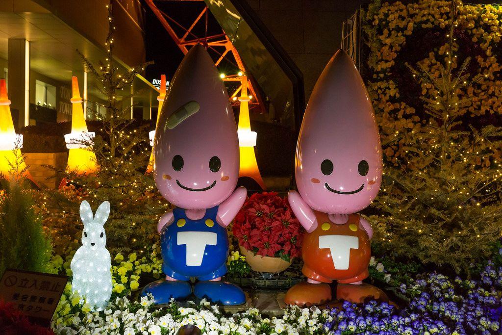 Tokyo Tower Mascots ノッポン Noppon