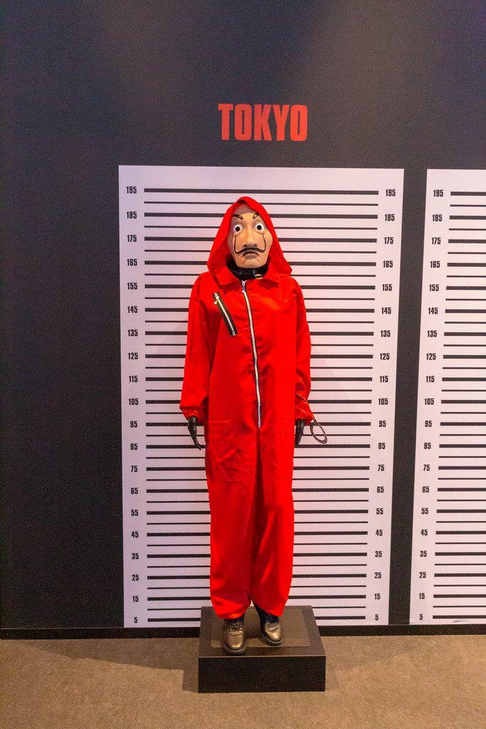 Tokyo's custom from the Netflix original series 'Money Heist' on display at the Gamescom trade fair