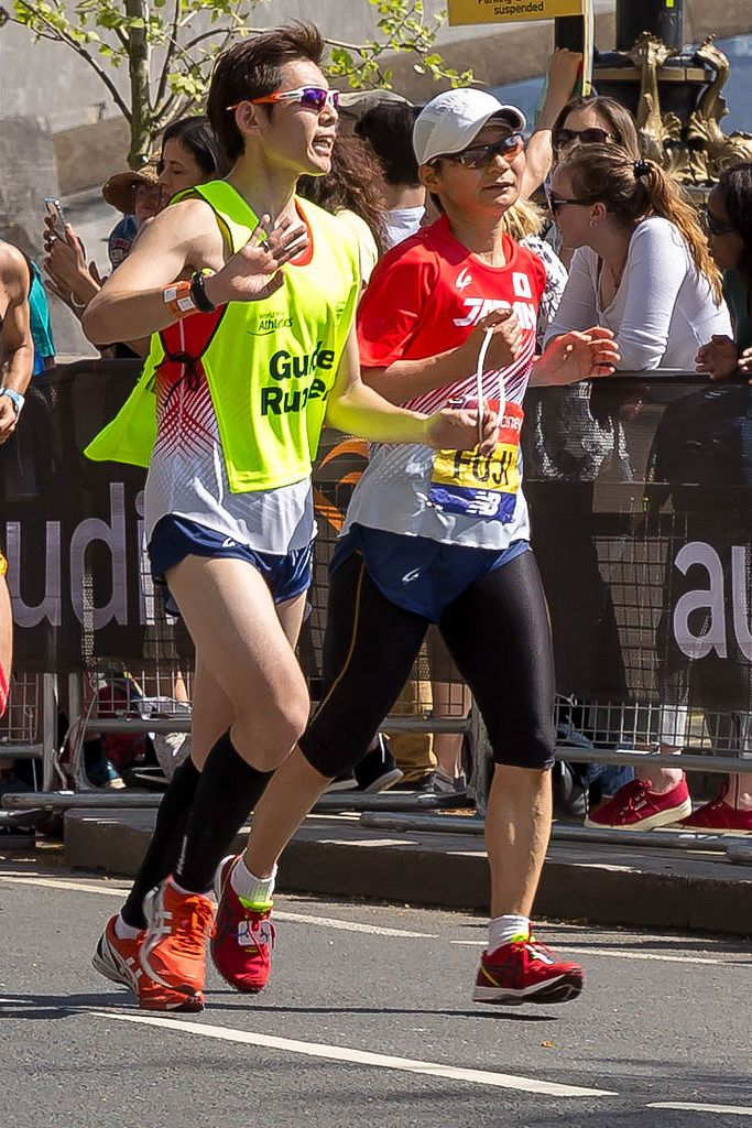 Tomoyo Fujiwara - London Marathon 2018