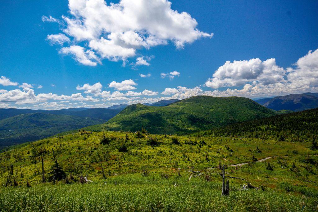 top mountain view