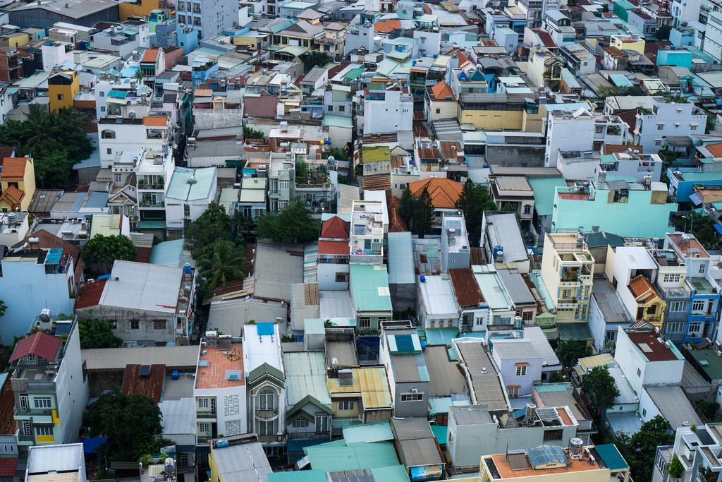 Top View of Saigon's District 7