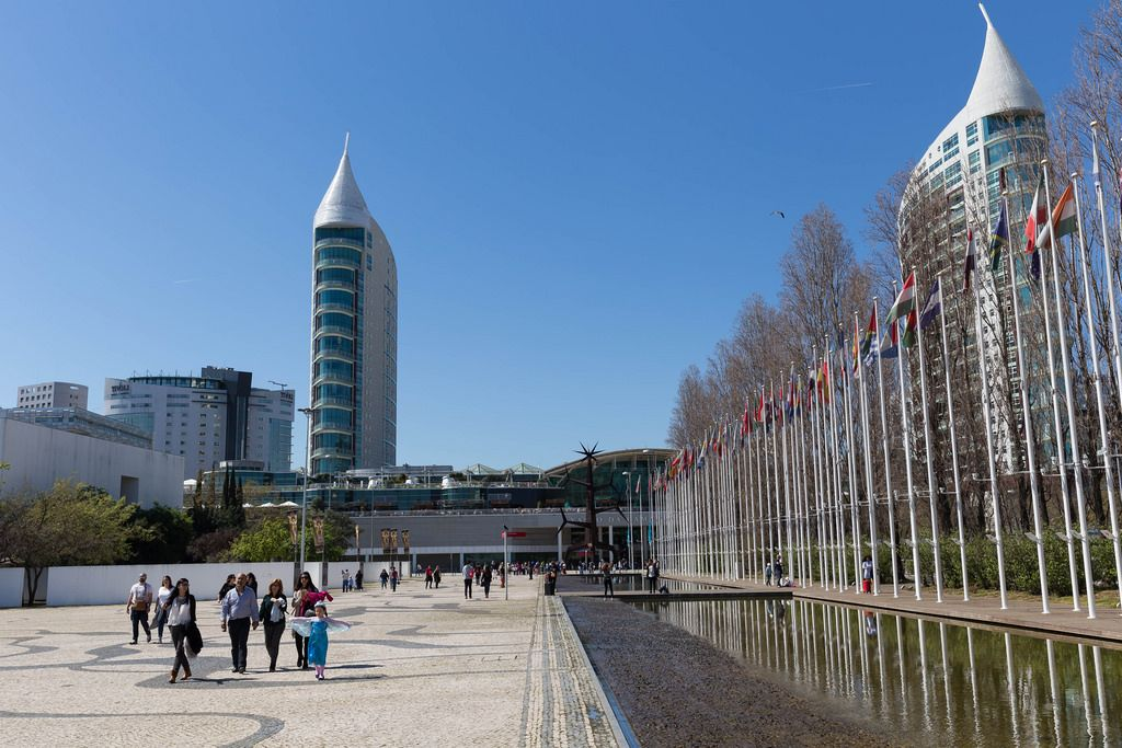Torre São Gabriel - die zweithöchsten Gebäude Lissabons