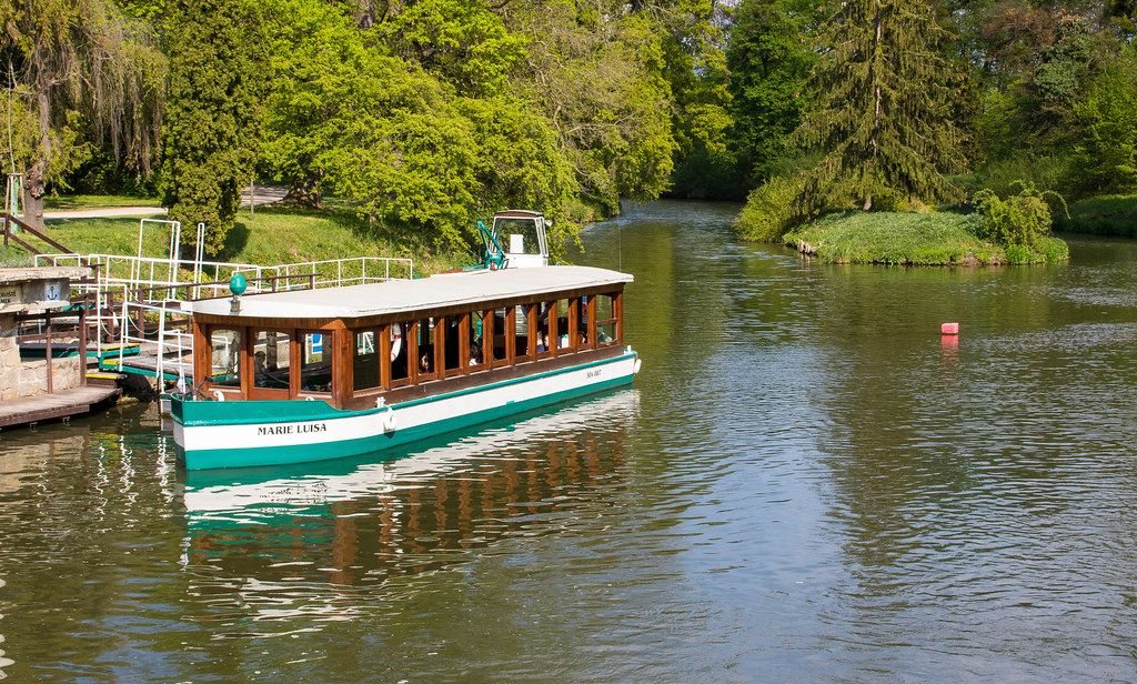 Tourist boat on the river
