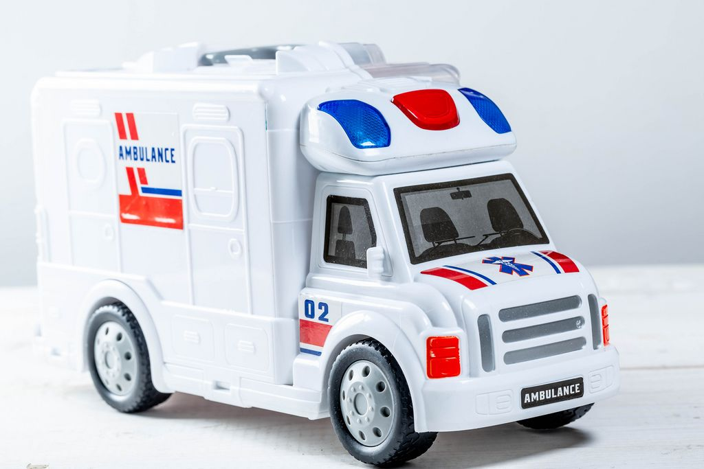 Toy ambulance car