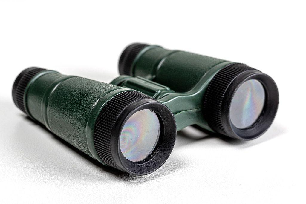 Toy plastic binoculars for children