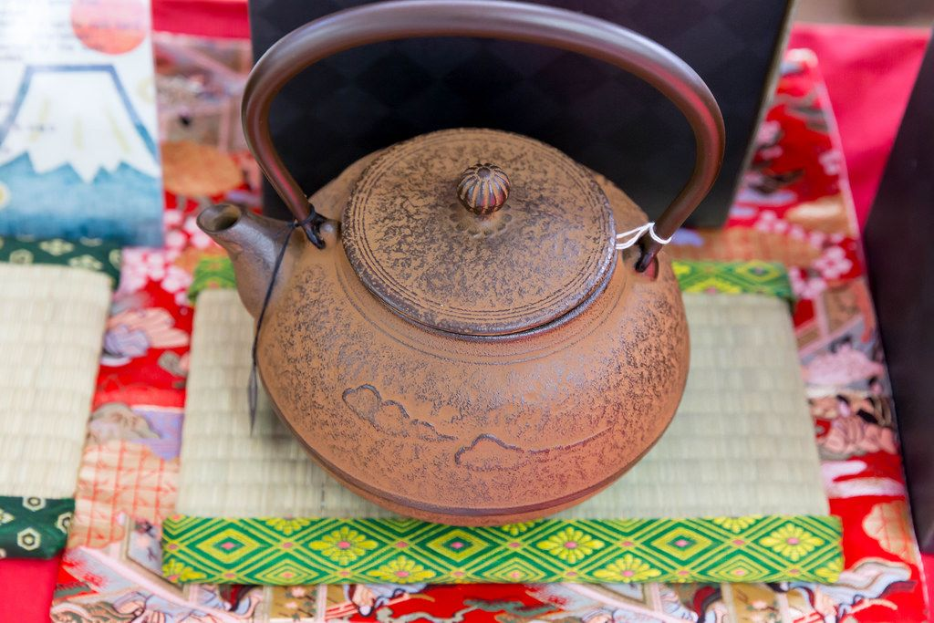 Traditionelle japanische Teekanne
