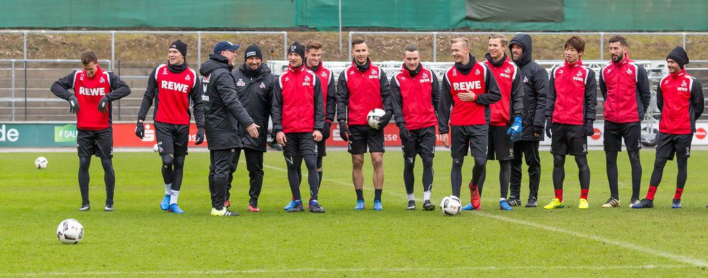 Training 1. FC Köln am 25.01.2017