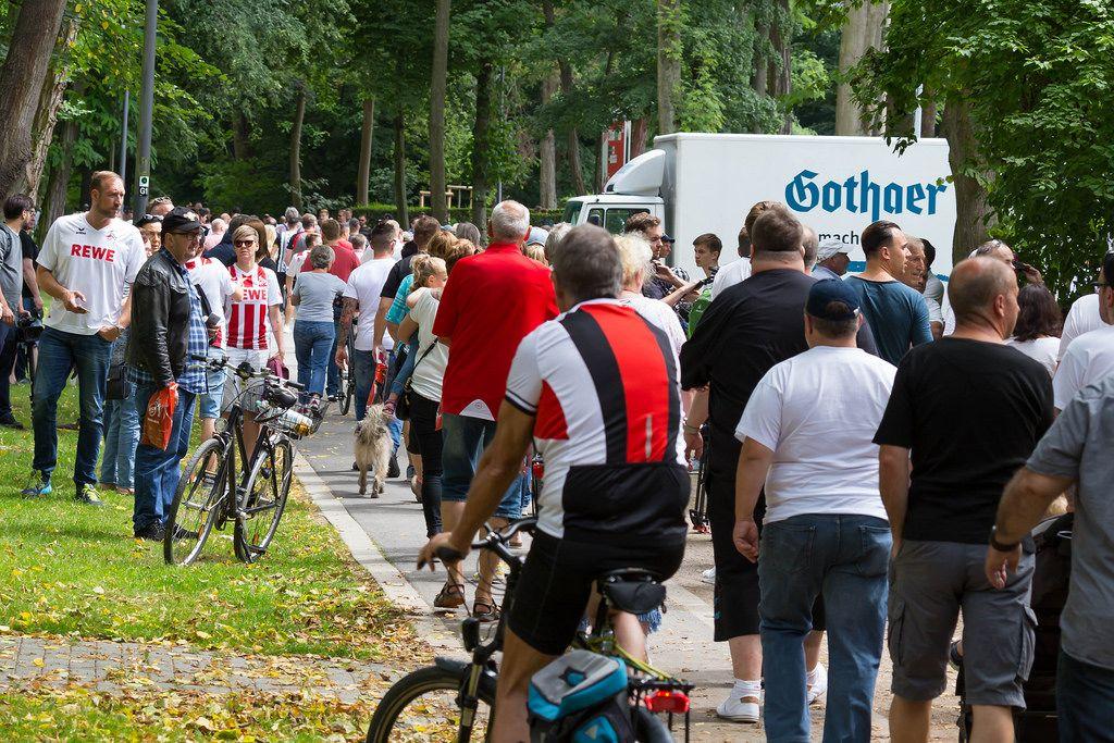 Trainingsauftakt 1. FC Köln am 03.07.2017
