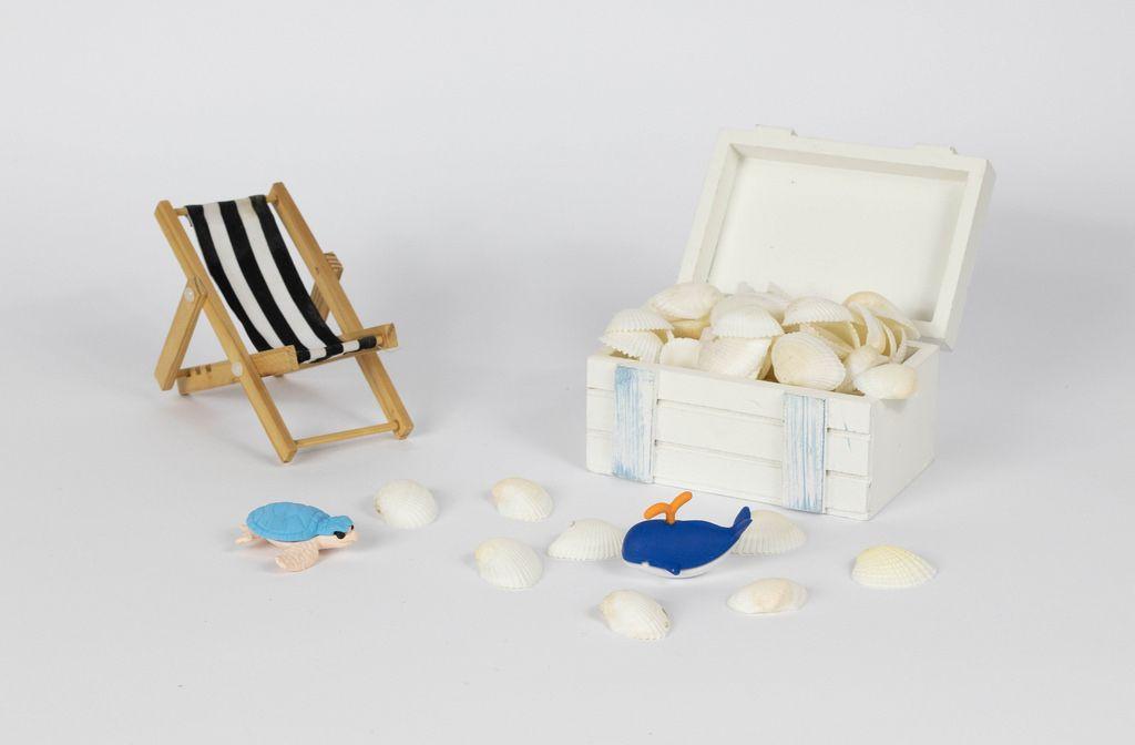 Treasure full of seashells