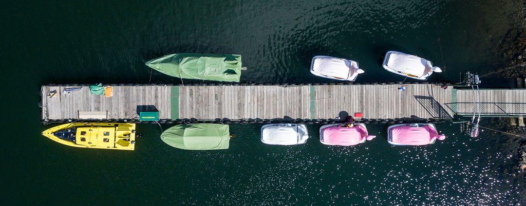 Tretboote auf Kawaguchi-See
